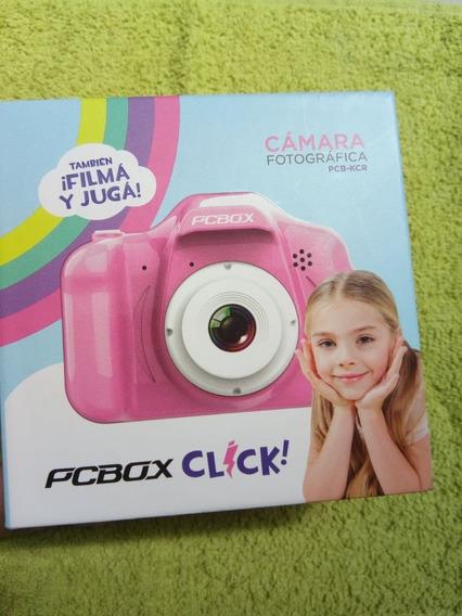 Camara De Fotos Pcbox Click Para Niños