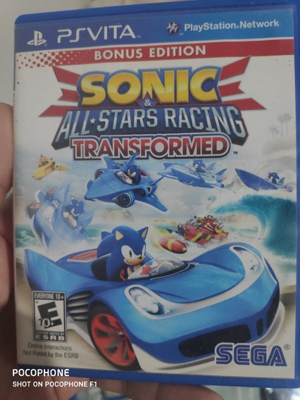 Sonic All Star Racing Ps Vita