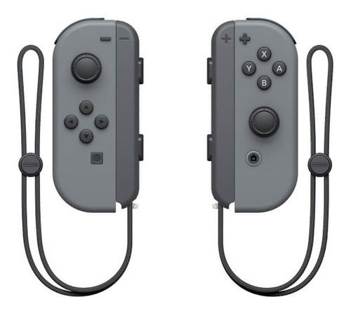 Imagen 1 de 1 de Set de Joystick inalámbrico Nintendo Switch Joy-Con (L)/(R) gris
