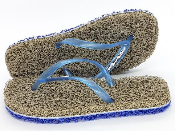 Chinelo De Banho Esponja Duplo Capacho Anti Derrapante