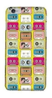 Funda Cassete Vintage Tape Cinta Colores Retro Disp Para Toda Marca De Celular Protector Case Carcasa