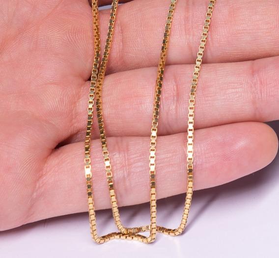 Cordão Ouro 18k Veneziano 10.2 Gramas