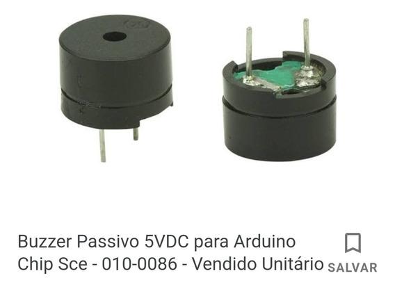 Kit 5 Buzzer Passivo 5v