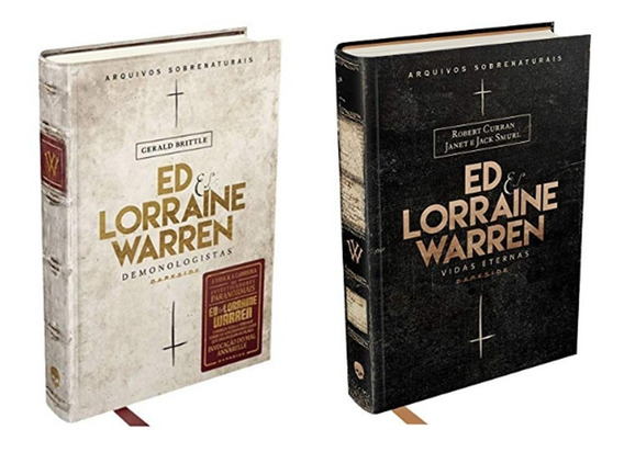 Kit Livro Ed E Lorraine Warren Vidas Eternas + Demonologista