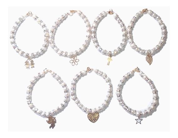 Pulseras Elegantes Semanario Perlas Cultivadas A058