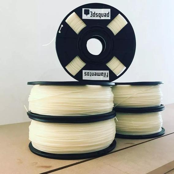Filamento Abs 1.75mm Premium 12 Kg Natural/preto 3dsquad