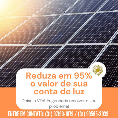 Projeto De Energia Solar - Instalação E Gestão De Usinas