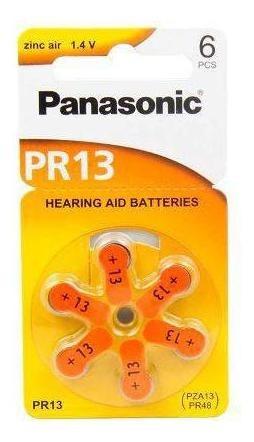 Bateria Panasonic Pr 13h Cart Com 6 Unidades