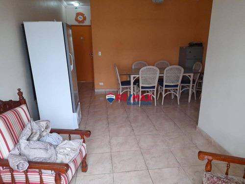 Imagem 1 de 18 de Apartamento Com 3 Dormitórios À Venda, 80 M² Por R$ 250.000,00 - Praia Da Enseada  Aquário - Guarujá/sp - Ap3519