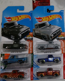 Hw E Mbx Lote 6 Pickups Chevy Stepside Ford Truck Ford F1