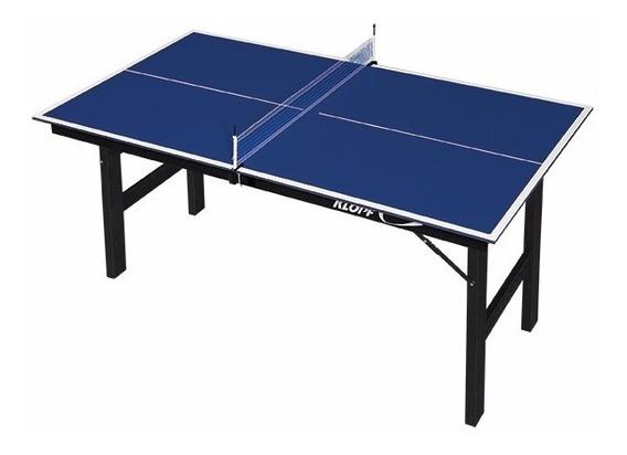 Mini Mesa Para Ping Pong Em Mdp De 12 Mm