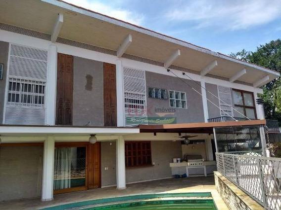 Casa Com 5 Dormitórios À Venda, 1300 M² Por R$ 4.200.000,00 - Cidade Jardim - São Paulo/sp - Ca3847