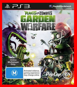 Plants Vs Zombies Garden Warfare Ps3 Psn Dublado Ptbr