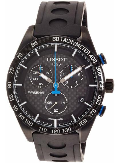 Reloj Tissot T1004173720100 Para Caballero Correa De Caucho