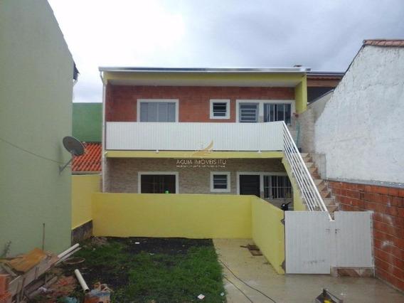 Kitnet Residencial Para Locação, Residencial Parque São Camilo, Itu. - Kn0002
