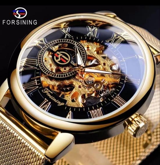 Relógio Masculino Forsining Original Clássico Pronta Entrega