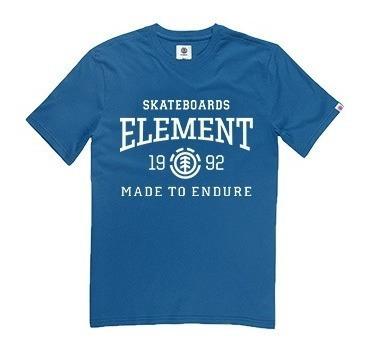 Remera M/c Element Victory Tee Francia Holl Hombre 21107011