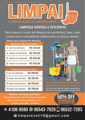 Limpeza De Escritórios, Limpeza De Condomínios, Portaria.