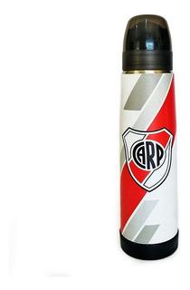 Termo Acero Inoxidable Lumilagro Luminox 1 Litro River Plate