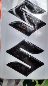 Adesivo Emblema S Suzuki Tanque Bandit Srad Bking Hay Preto