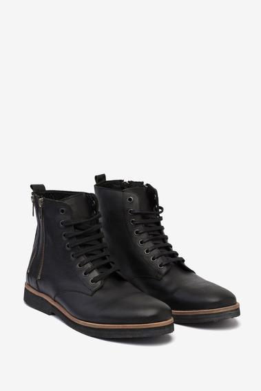 Calzado Tascani Focley Negro Cuotas