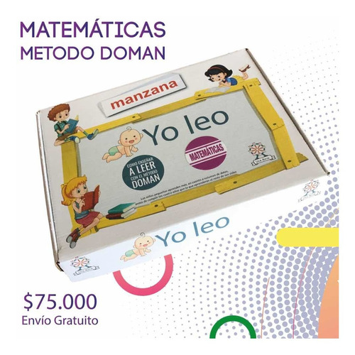Kit Matemáticas Método Doman Yo Cuento