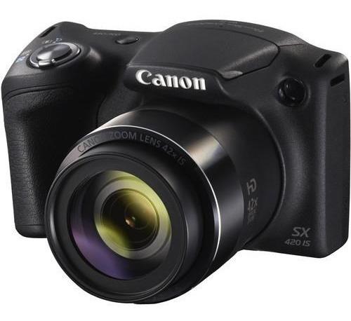 Câmera Canon Powershot Sx420 Is 20mp Hd 42x Zoom Wi-fi Nfc