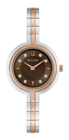 Relógio Feminino Bulova Rhapsody Aço 98p194