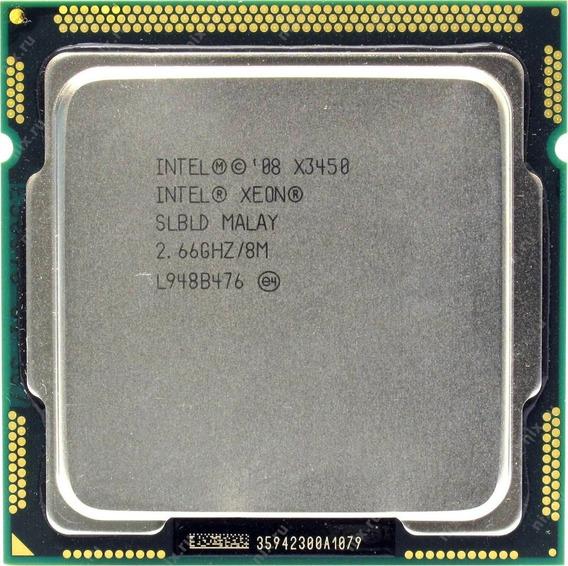 Processador Intel Xeon X3450 Socket Lga 1156 2.66 8mb