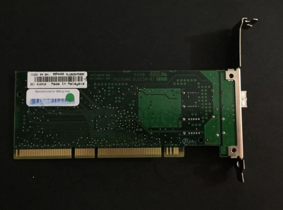 Placa Fibra Gigabit Ibm Intel Pro 1000 Mf 004499 Pwla8490mf