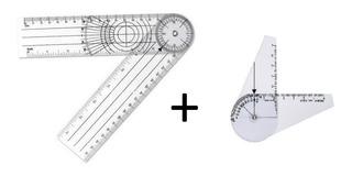 Kit C/ 2 Goniômetros: 1 Grande E 1 Pequeno