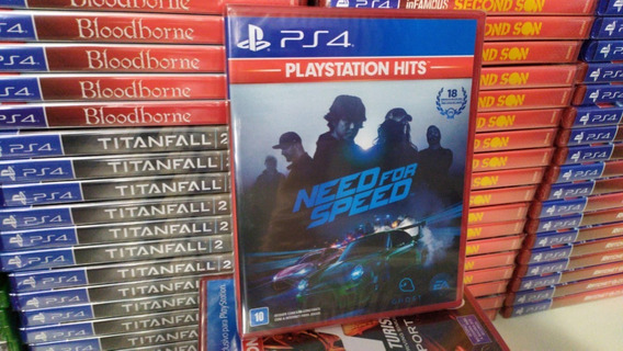 Need For Speed Ps4 Mídia Física Novo Em Português