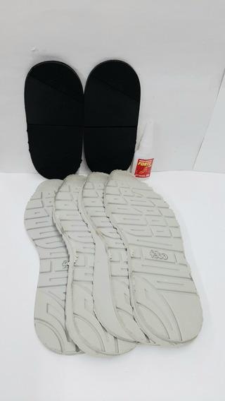 Fondo De Goma Para Zapatillas Esp. 3 Mm,taco Goti Kid Distri