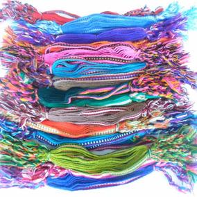 Pulseira Pano Colorida Pacote C/10 Dúzias Antonio Bijuterias