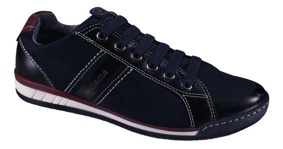 Sapatênis Sapato Pegada Masculino 116903 Nobuck