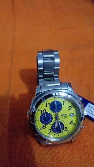 Relógio Seiko Cronograph Ref. Snd409p1