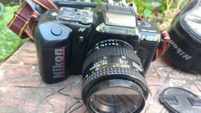 Máquina Fotográfica Nikon F-401s Analógica Não Foi Testada