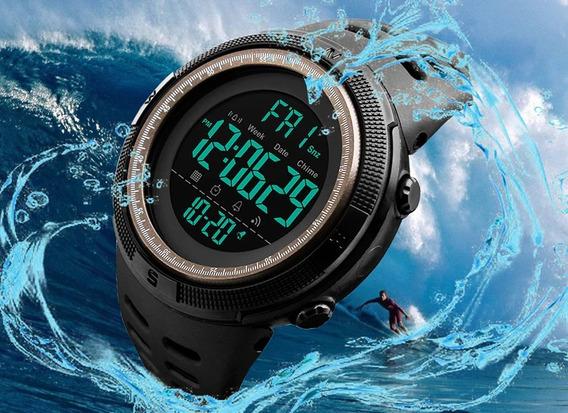 Relogio Skmei Ref 1251 Preto,novo,dual Time ,timer,alarm,