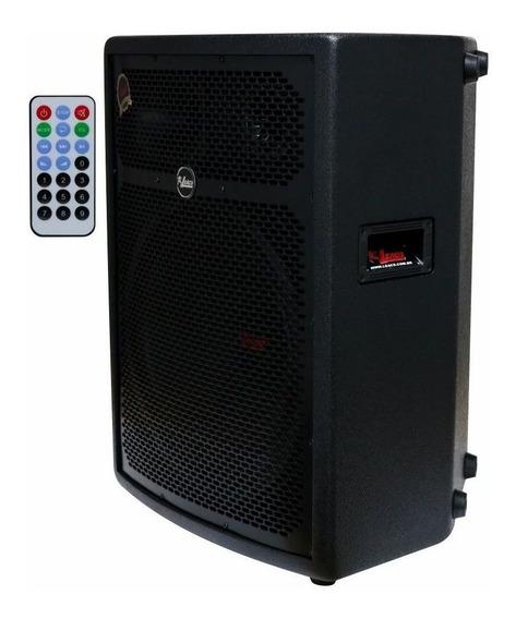 Caixa Amplificada Leacs Fit550a 250w Rms Usb   Bluetooth