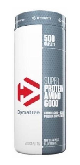 Aminoacidos Dymatize Super Amino 6000 500 Tabletas 6000mg