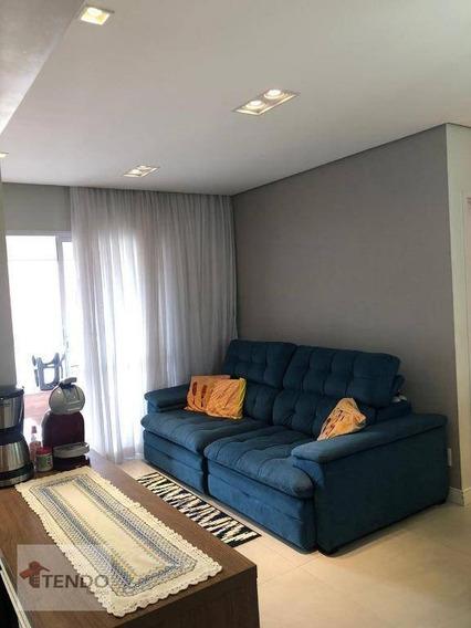 Apartamento 70 M² - 1 Dormitório - 1 Suíte - Independência - São Bernardo Do Campo/sp - Ap1073
