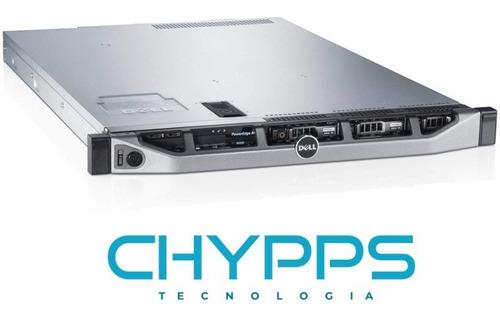 Imagem 1 de 1 de Servidor Dell R620 Dual Xeon E5-2650v1 32 Threads Ram 64gb