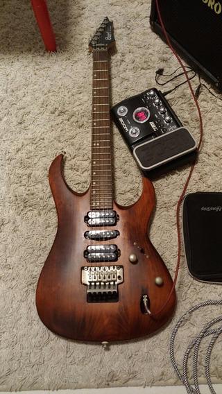 Guitarra Cort Viva Gold 2 + Pedaleira Zoom