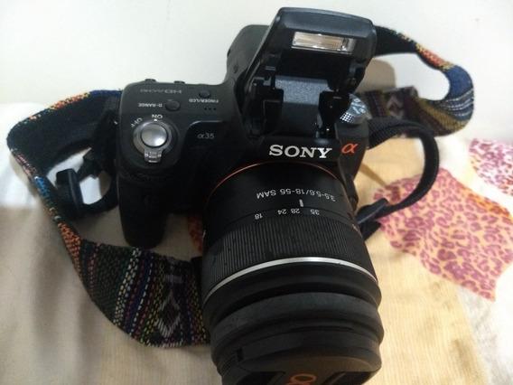 Sony Alpha 35 Excelente Estado 5255 Cliks