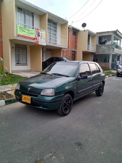 Renault Clio 1 Rn, Verde, Motor 1400 Buen Estado