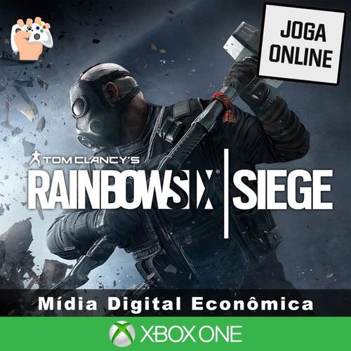Rainbow Six Siege - Xbox One - Mídia Digital + Brinde