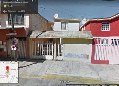 Casa Habitación De Remate Bancario, Col. Valle De Aragon.