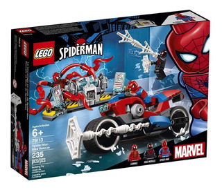 Lego Marvel Super Heroes Spiderman Y Carnage Moto 76113