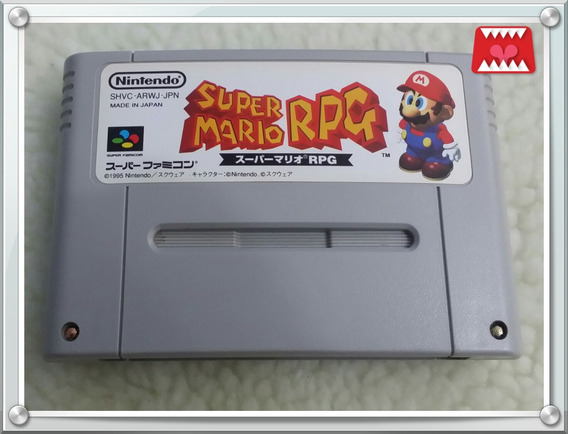 Cartucho Super Mario Rpg Super Famicom/ Snes Original