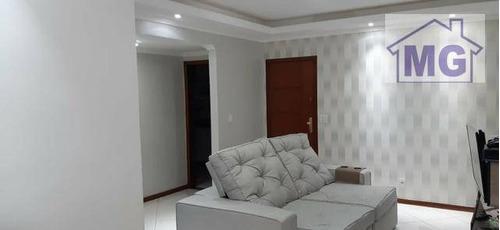Apartamento Com 2 Dormitórios À Venda, 70 M² Por R$ 299.000,00 - Riviera Fluminense - Macaé/rj - Ap0302